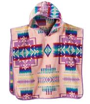 Pendleton Chief Joseph Pink Hooded Children's Towel