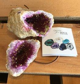 Rock Paradise Geode Titanium