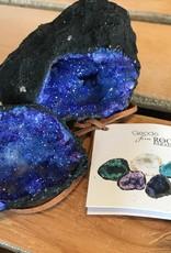 Rock Paradise Geode Blue