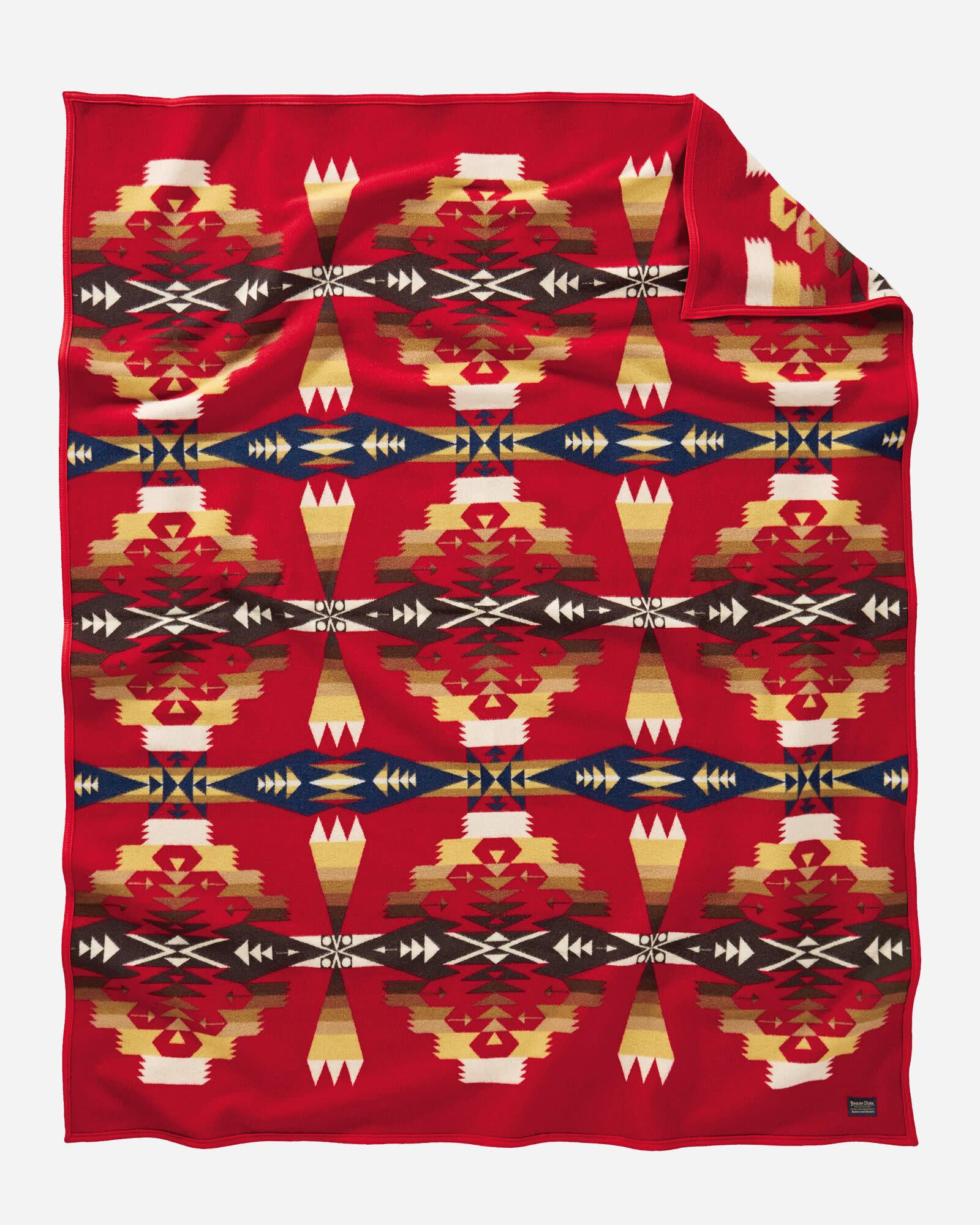 Pendleton Tuscan Robe Blanket Scarlet