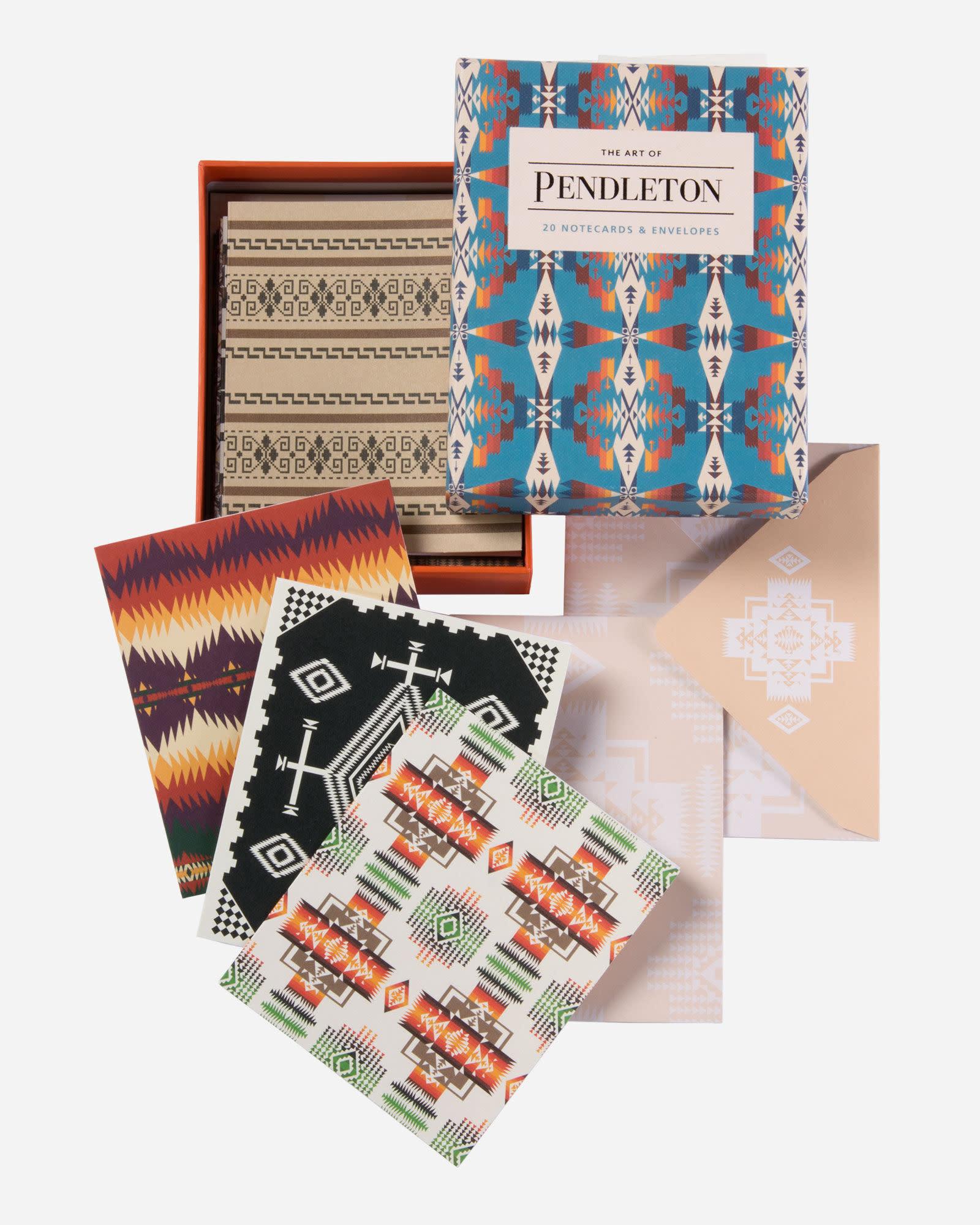 Pendleton Art of Pendleton Notes: 20 Notecards & Envelopes
