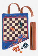 Pendleton Pendleton Chess & Checker Set: Travel-Ready Roll-Up Game