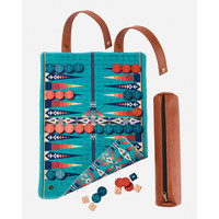 Pendleton Backgammon: Travel-Ready Roll-Up Game