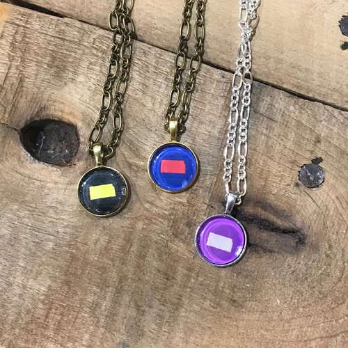 Julio Designs State Cheer Necklace
