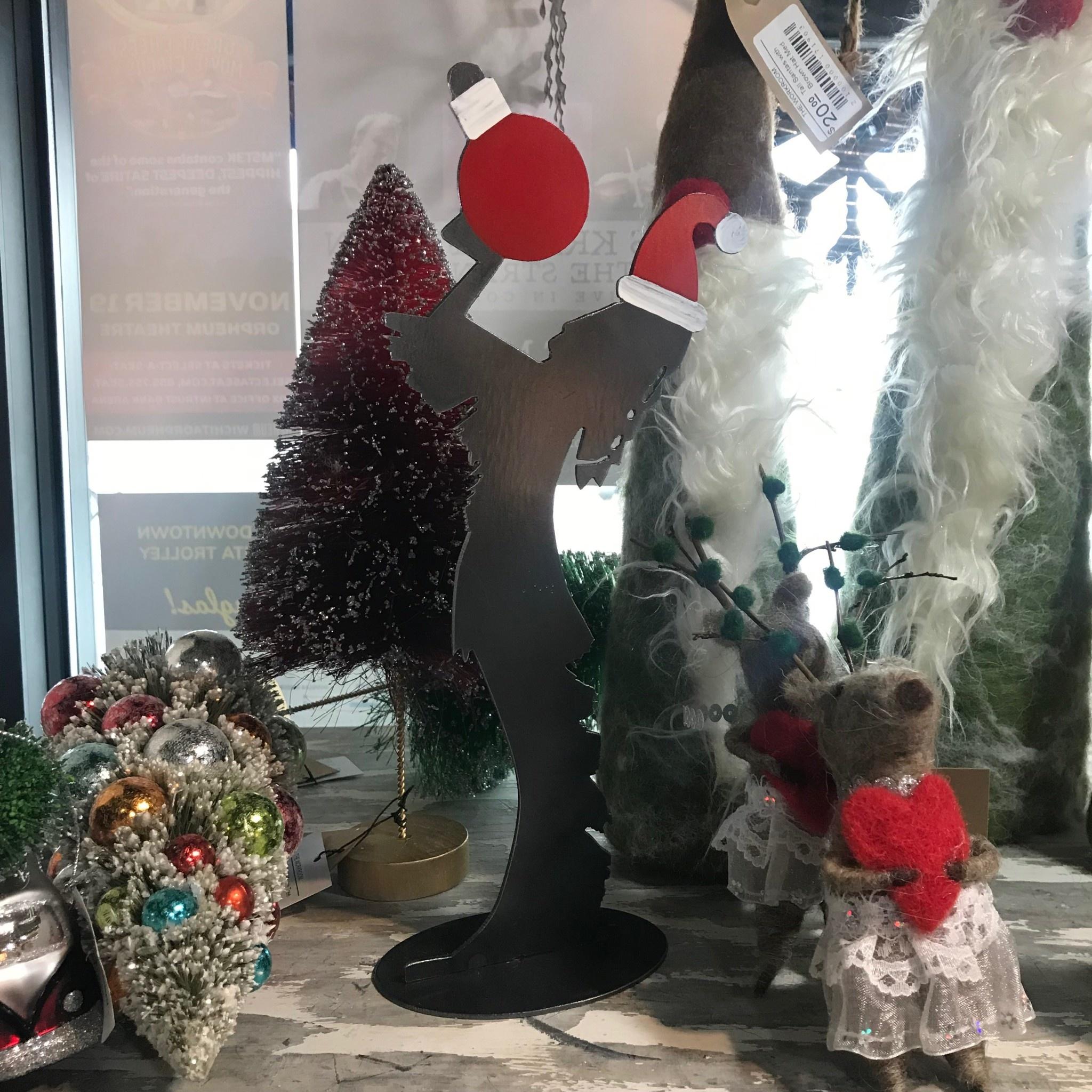 "Dark Horse Garage Metal Santa Keeper Mini (10"")"