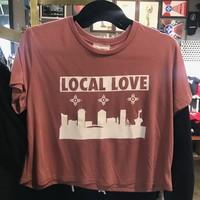 Liv+Work Local Love: Rose Crop Tee