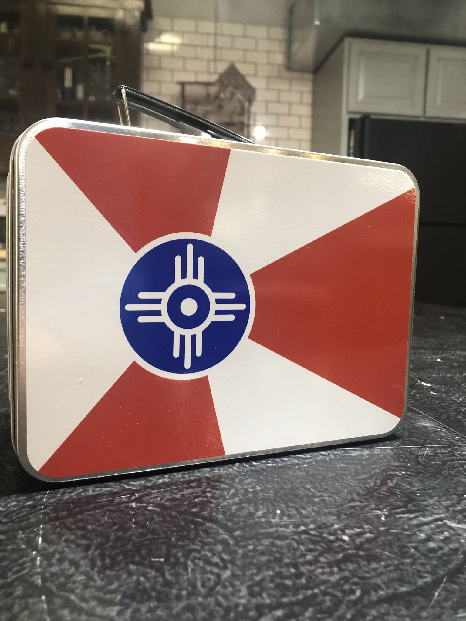 The Workroom Retro Lunch Box