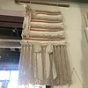 Acorn Willows Large Peach & Cream Wall Hanging