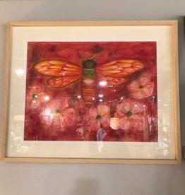 Delilah Reed Floral Cicada