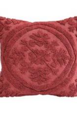 """18"""" Square Cotton Chenille Pillow"""
