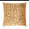"""24"""" Square Velvet Pillow Amber"""