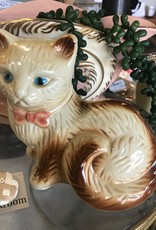 The Workroom Vintage Cat Statue