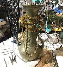 Vintage Vintage Brass Swan Vase