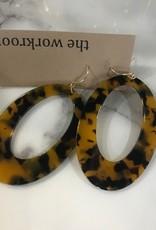 Tortoise Shell Earrings