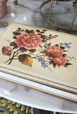 The Workroom Vintage Floral Tin