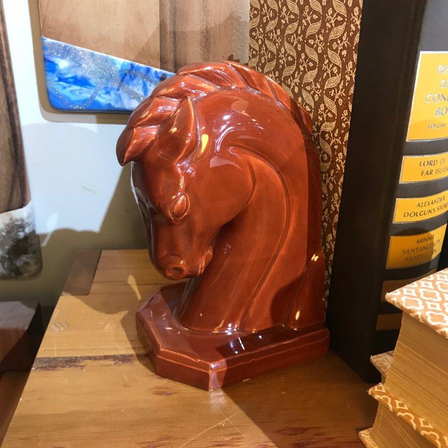 Vintage Ceramic Horse Bust