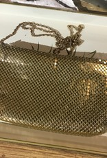 The Workroom Vintage Gold Chain purse