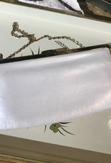 The Workroom Vintage Cream Purse with Chain