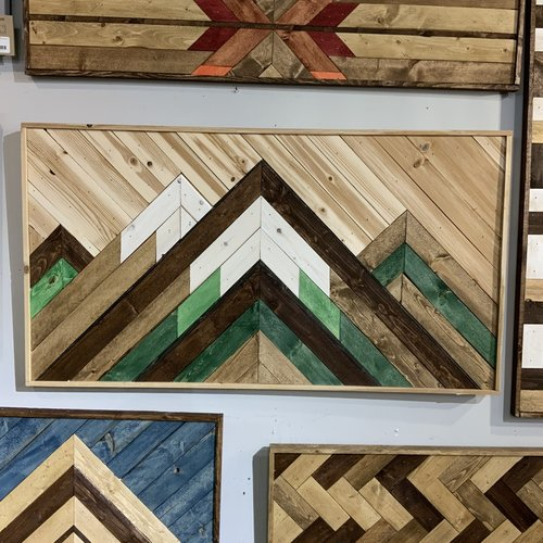Glacier Wood Design Co GWD Co Cedar Mtns -Green