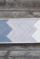 Glacier Wood Design Co GWD Co Gray to White-skinny
