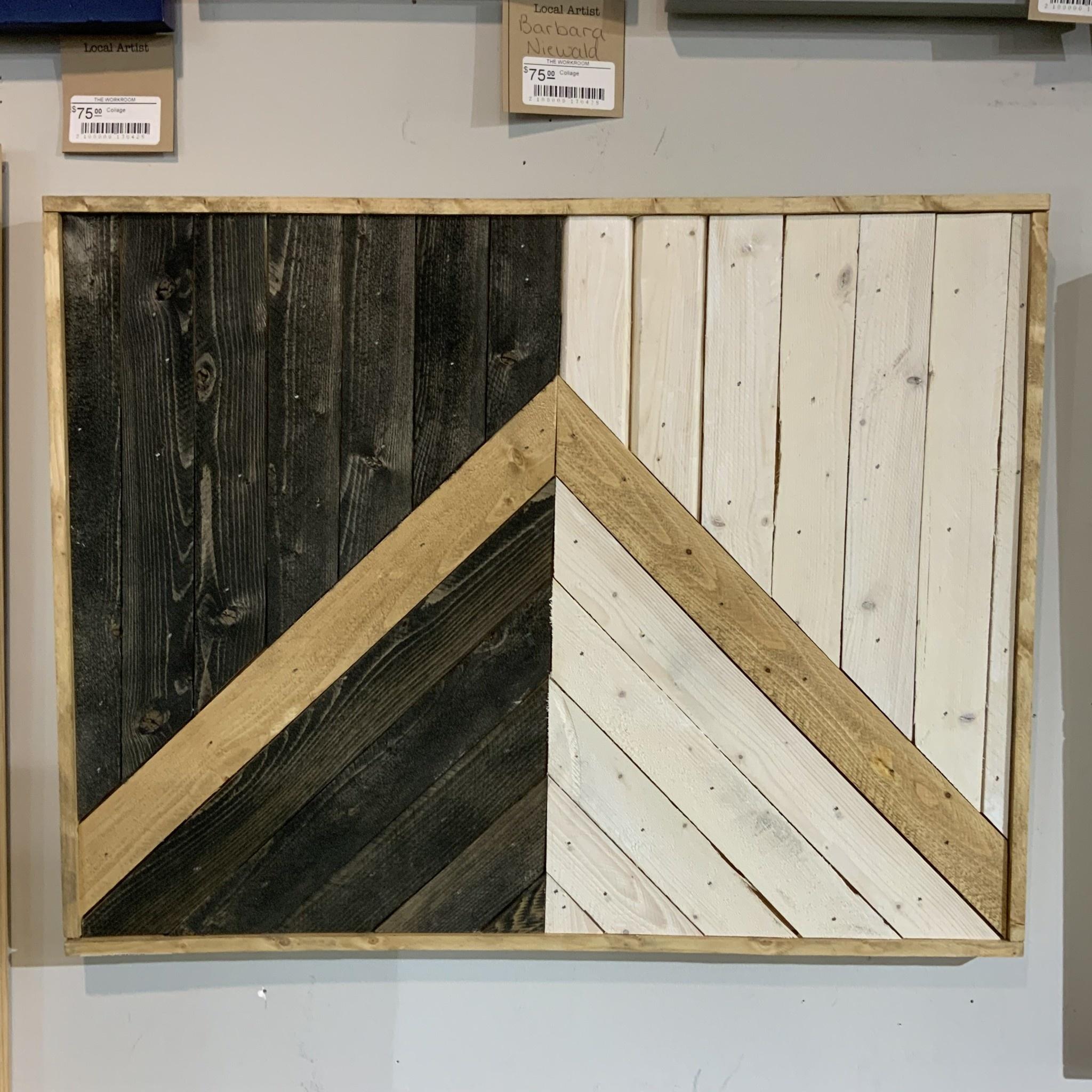 Glacier Wood Design Co GWD Co Good vs. Evil-B&W