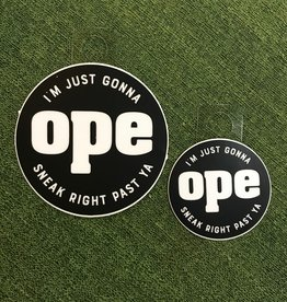 Joe Hanson Joe Hanson Ope Decal Small