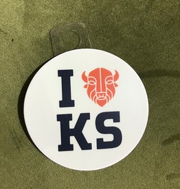 Joe Hanson Joe Hanson I Bison KS Decal
