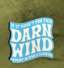 Joe Hanson Joe Hanson Darn Wind Decal