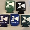 The Workroom WIchita Flag Coozie