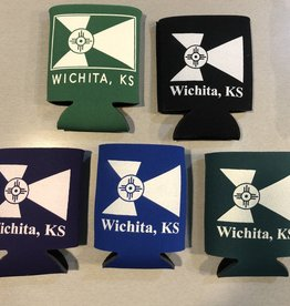 The Workroom WIchita Flag Coozie