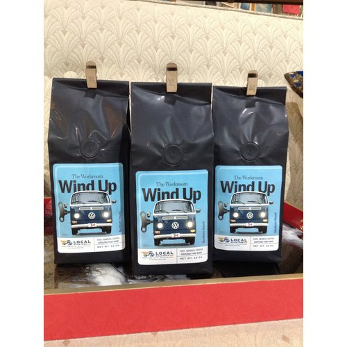 Local Roasters Workroom Windup Coffee 12oz Bag