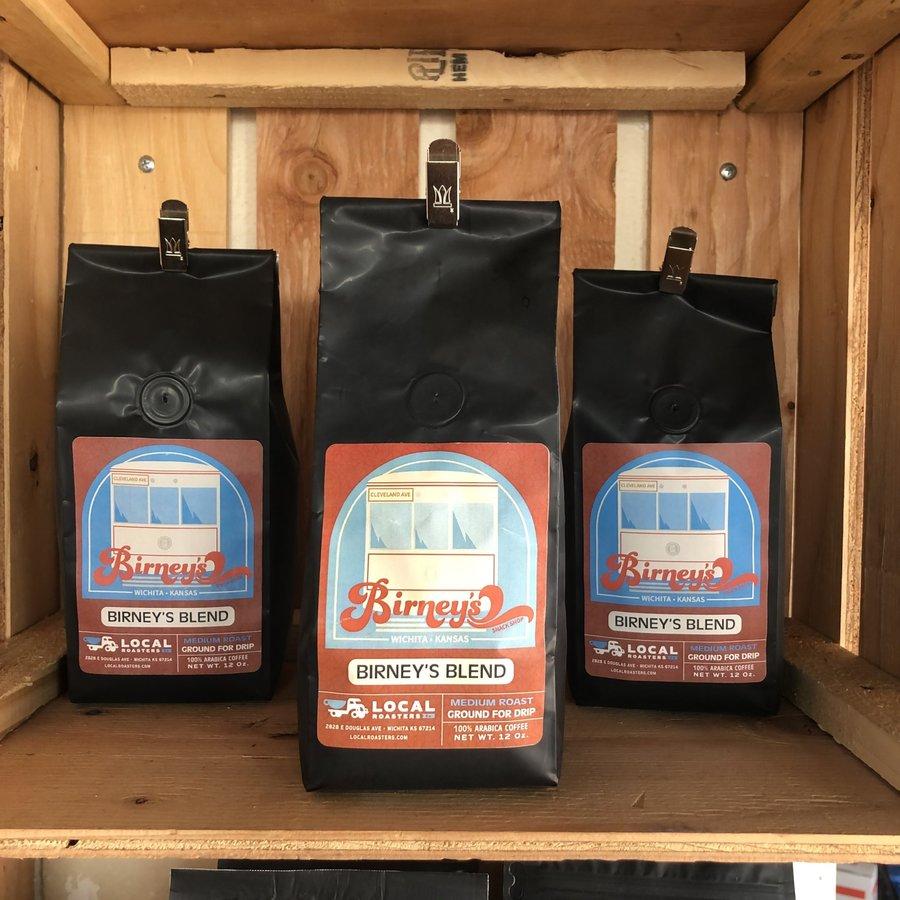 Birney's Blend Coffee 12 oz. Bag
