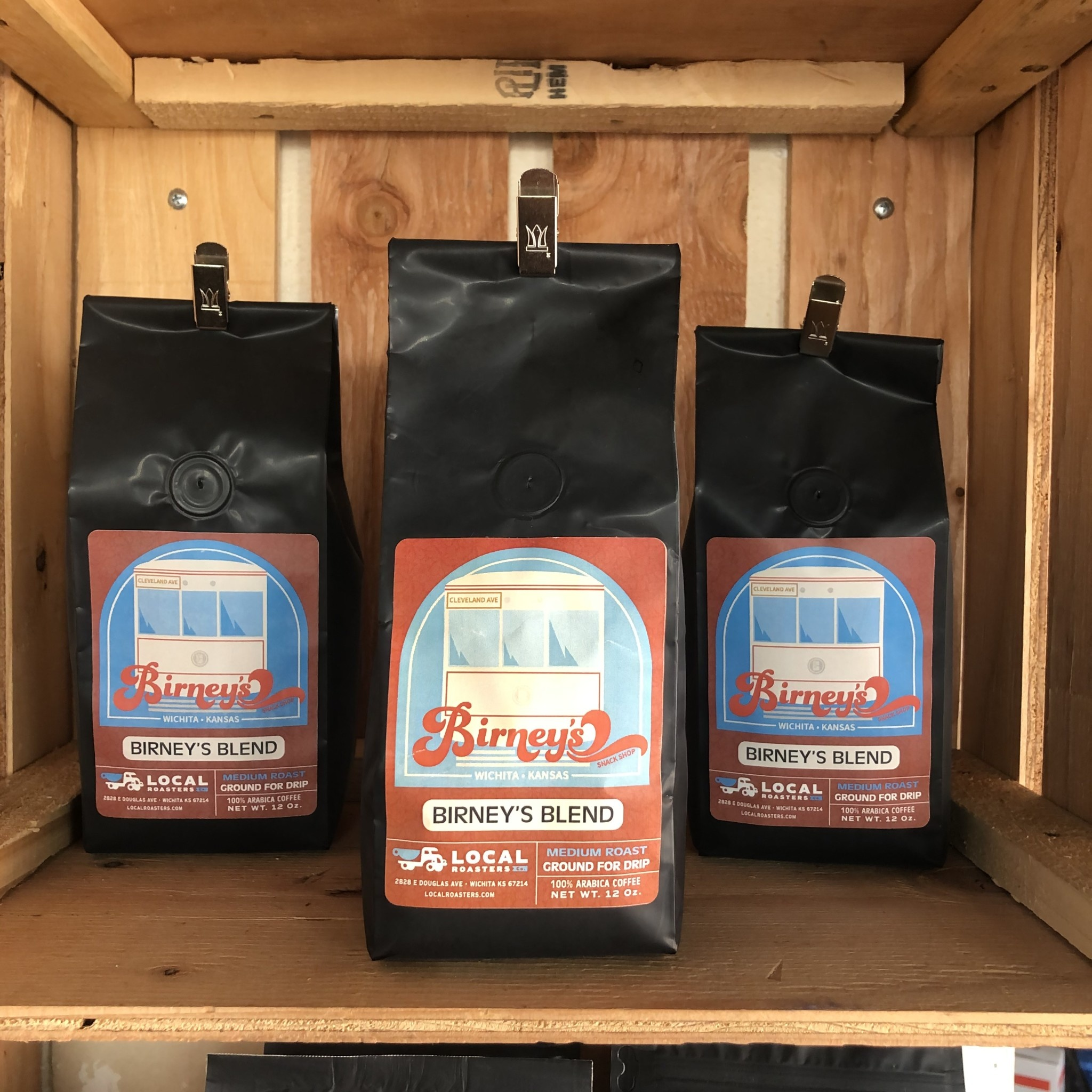 Local Roasters Birney's Blend Coffee 12 oz. Bag