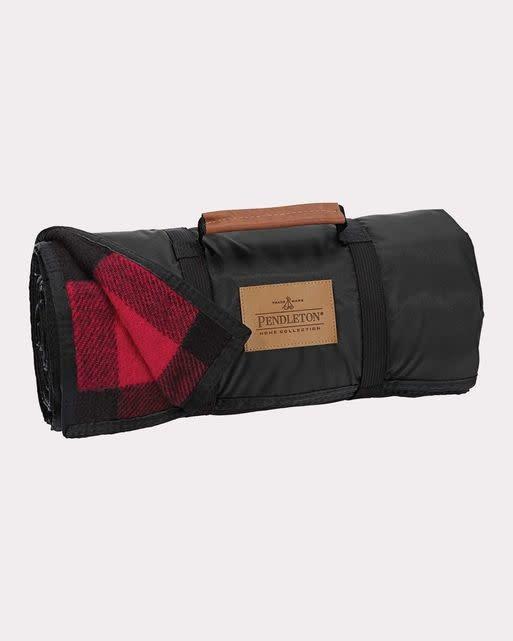 Pendleton Nylon Backed Roll Up Blanket