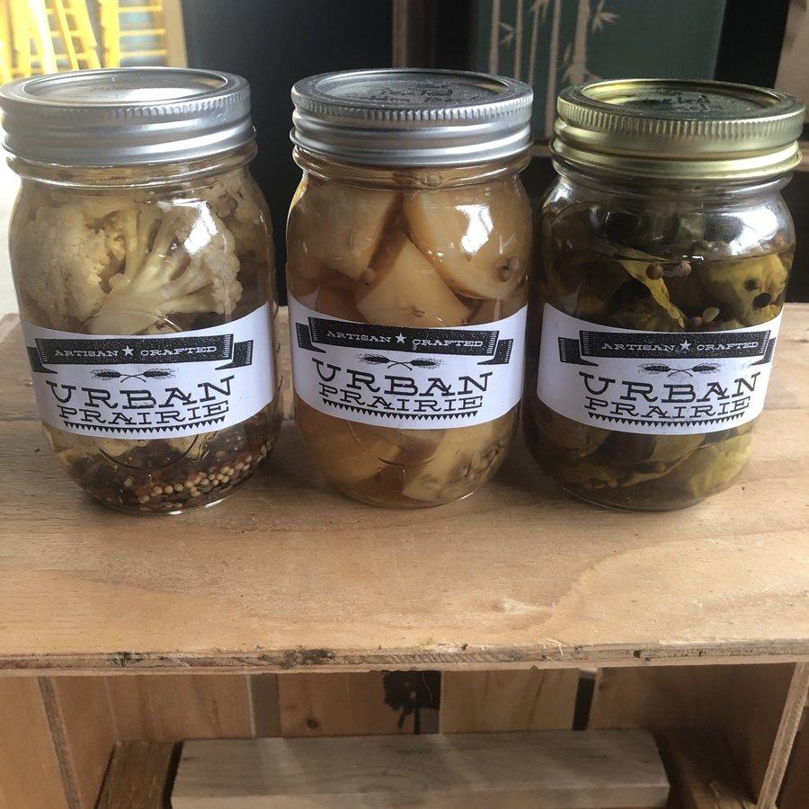 Urban Prairie Pickled Veggies