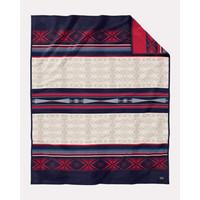 Unnapped Jacquard Blanket Robe Bighorn Multi