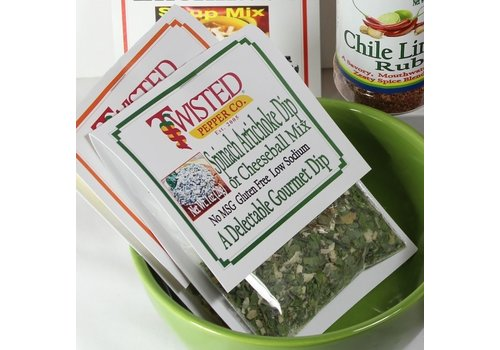 Twisted Pepper Co, Twisted Pepper Co. Dip Mix