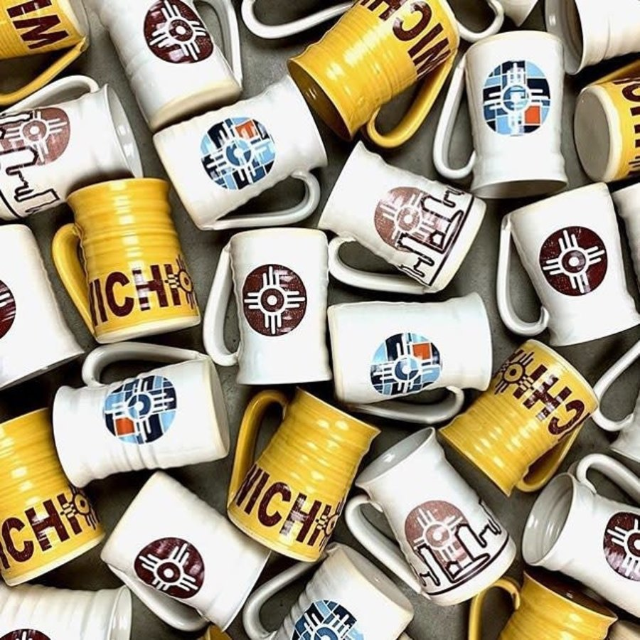 Handcrafted Ceramic Wichita Mug