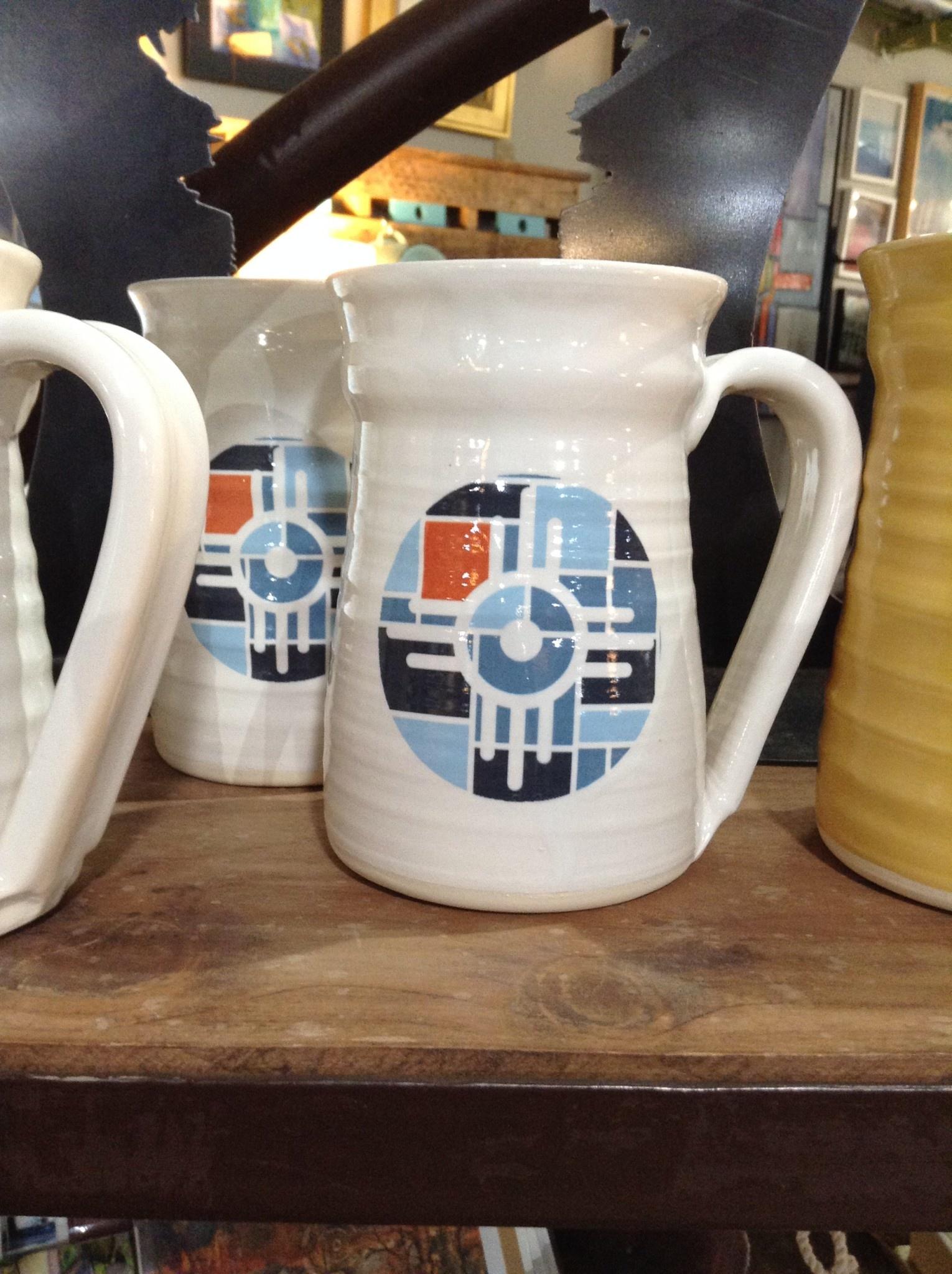 IS Art Handcrafted Ceramic Wichita Mug