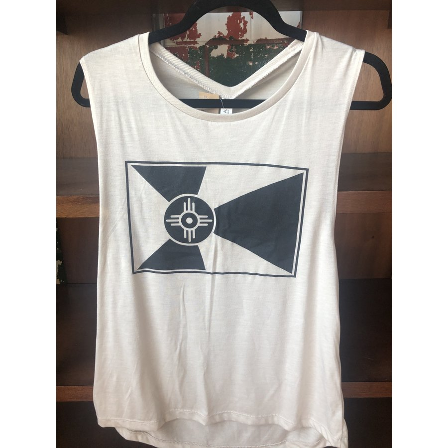 Wichita Flag Flowy Muscle Tank
