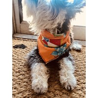 ICT Flag Dog Scarf-Double Layer
