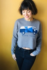 The Workroom Kitten Cropped Sweatshirt