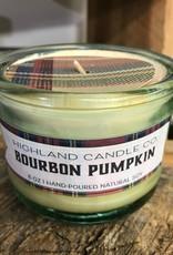 Bohemia Bohemia Bourbon Pumpkin Glass Candle