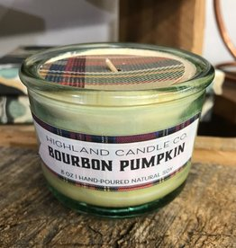 Bohemia Bohemia Bourbon Pumpkin Glass Candle