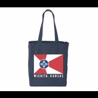 Wichita Flag Canvas Tote