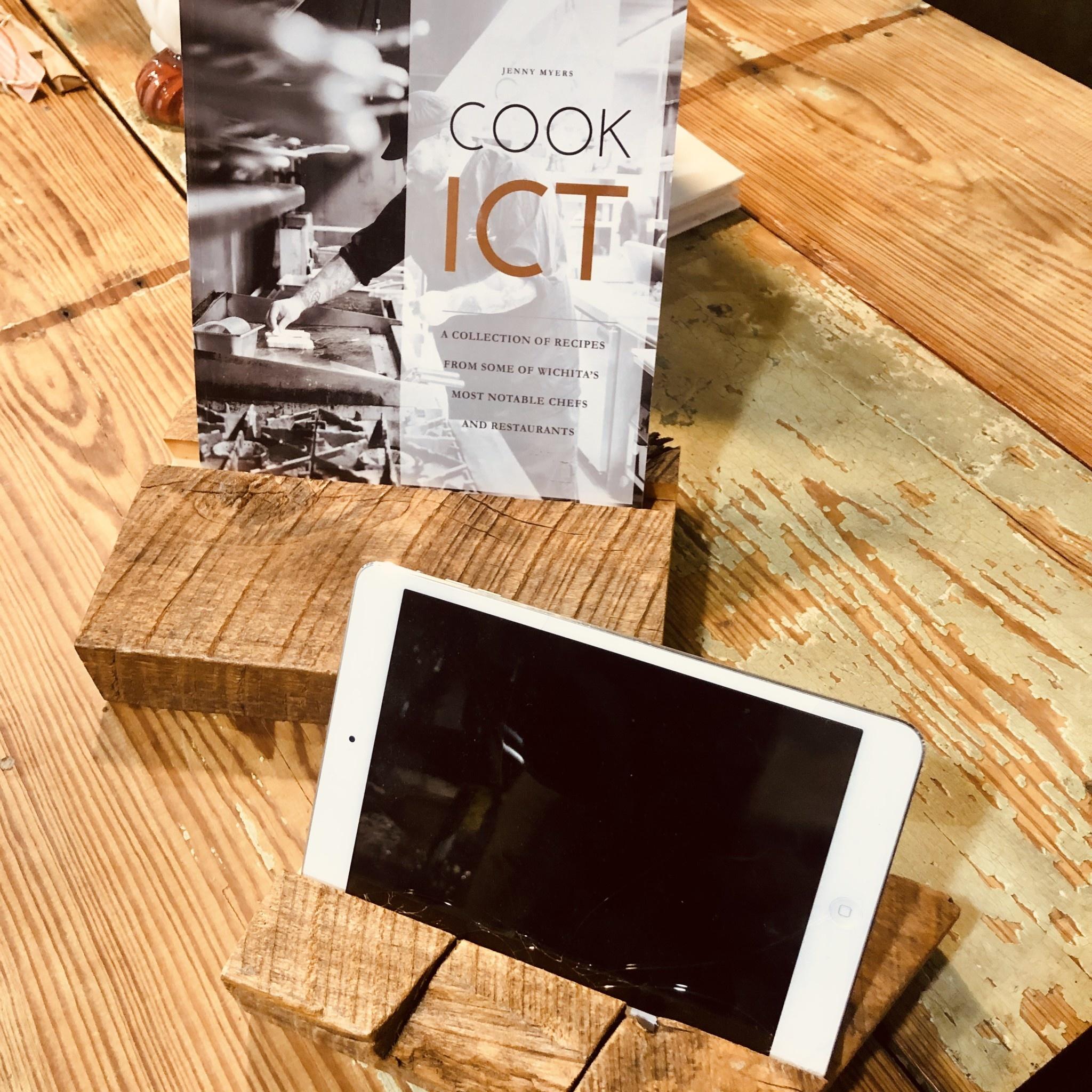 Before Shock Wood iPad Holder