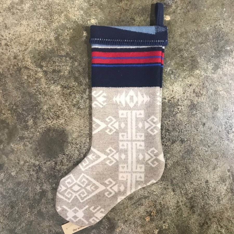 Vache Brothers Pendleton Stocking