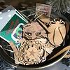 Gary Kline Wooden Christmas Ornament