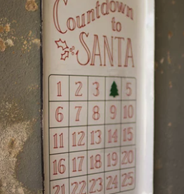 Countdown to Santa Tray