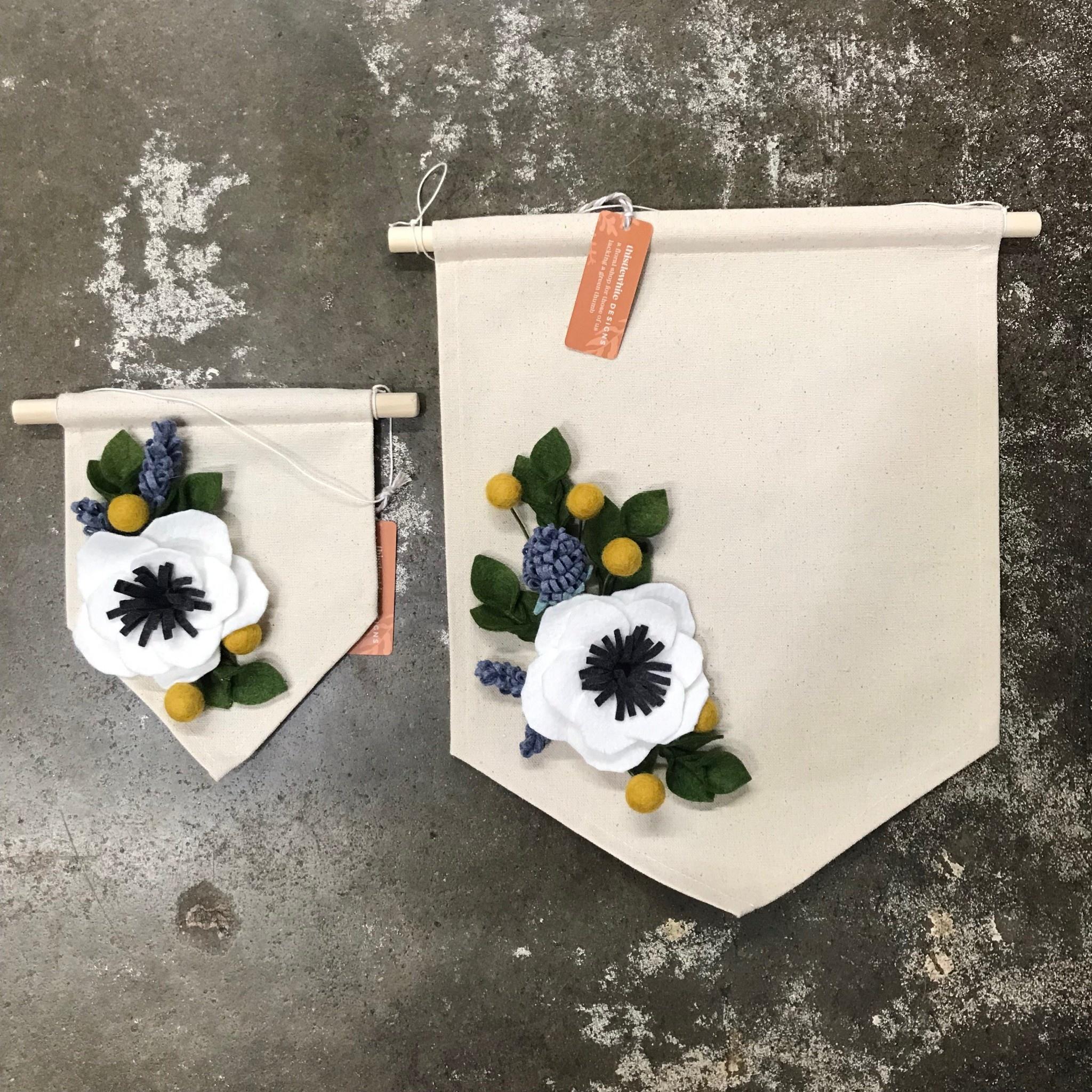 Thistlewhite Designs Anemone Banner